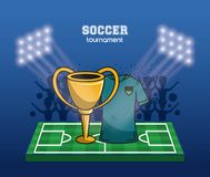 Coupe du monde du football Photo stock