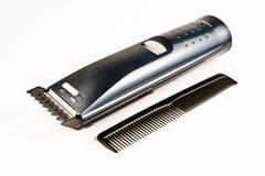 Coupe et coiffeur Image stock