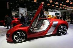 Coupe pojęcie Renault Dezir Zdjęcia Stock