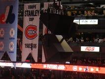 Coupe Stanley filiżanki kanadyjczyków Montreal drużyny hokejowej NHL (habs) zdjęcia stock