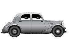 Coupe - vintage model of car Royalty Free Stock Photo