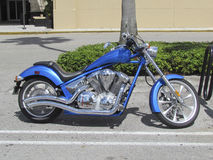 Couperet bleu Image stock