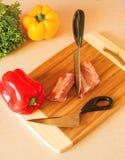 Couperet de cuisine Photographie stock libre de droits