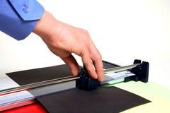 Coupeur de papier Photo libre de droits