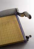 Coupeur de papier photographie stock