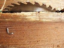 Coupeur en bois images stock