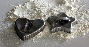 Coupeurs de biscuit Images libres de droits