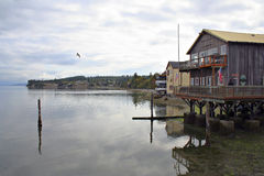 Coupeville Harbor Royalty Free Stock Photos