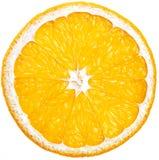 Coupez à travers l'orange Photographie stock libre de droits