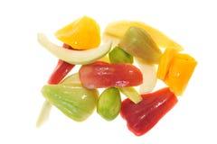 Coupez frais le fruit Images stock