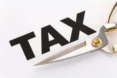 coupez l'impôt Image libre de droits
