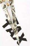 coupez l'impôt Images libres de droits