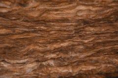 Coupez l'isolation thermique de laine Photographie stock libre de droits
