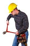 coupez l'outil d'homme Image stock