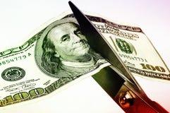 Coupez la dépense 3 Photos libres de droits