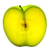 Coupez la pomme Images stock