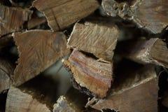 Coupez la texture en bois image stock