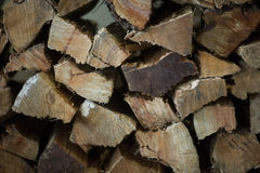 Coupez la texture en bois images libres de droits