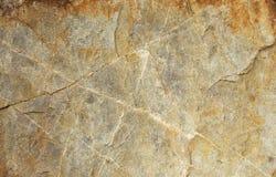 Coupez la texture en pierre Images libres de droits