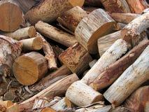 Coupez le bois Photographie stock libre de droits