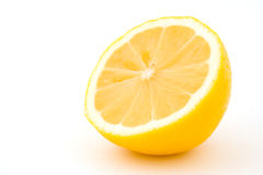 Coupez le citron Photo libre de droits