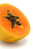 Coupez le fruit de papaye photos libres de droits