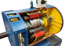 Coupez le moteur électrique de manière Image libre de droits