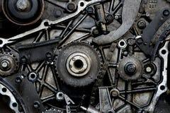 Coupez le moteur de thrue Photo libre de droits