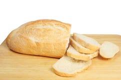 Coupez le pain images stock