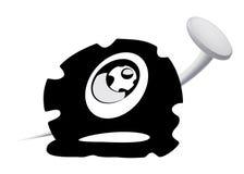 coupez le pneu Image libre de droits