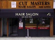Coupez le salon de coiffure de maîtres Images libres de droits