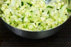 Coupez les légumes Photo stock