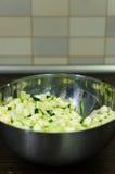Coupez les légumes Photos stock
