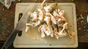 Coupez les poissons Image libre de droits