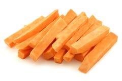 Coupez les tranches de patate douce Images stock