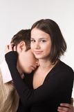 Couple. Photo of a young 19 years old couple Royalty Free Stock Photos