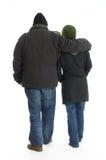 Couple. Strong men hugging women concept Stock Photo