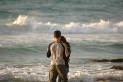 Couple. On the beach Royalty Free Stock Photos
