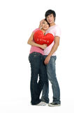 Couple. Young happy couple in love Stock Images