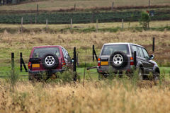 Couple of 4x4s Royalty Free Stock Photography