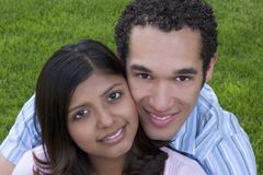Couple. Smiling Couple Royalty Free Stock Photo