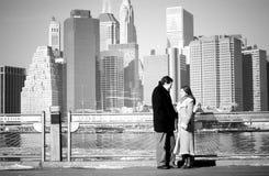 Couple. Engagement photo Stock Photo