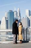 Couple. Engagement photo Stock Image