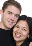 Couple. A happy couple. Husband and wife. Diversity Royalty Free Stock Photography