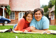 Couple of adults Stock Photo