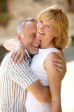 Couple with age difference Royalty Free Stock Images