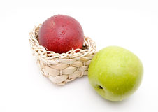 Couple of Apples Royalty Free Stock Photography