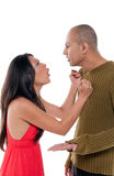 Couple arguing Royalty Free Stock Image