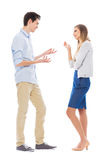 Couple arguing Royalty Free Stock Photos