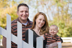Couple and Baby Royalty Free Stock Photo